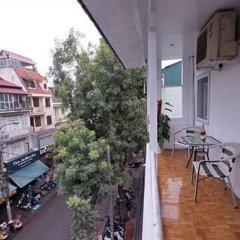 Hanoi White Palace Hotel Ханой балкон