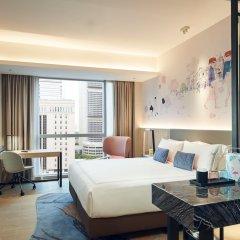 Отель Capri by Fraser China Square Singapore комната для гостей фото 5