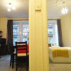 Апартаменты CDP Apartments Kelvinhall Глазго комната для гостей