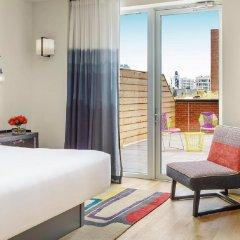 Отель Indigo Lower East Side New York, an IHG Hotel США, Нью-Йорк - отзывы, цены и фото номеров - забронировать отель Indigo Lower East Side New York, an IHG Hotel онлайн комната для гостей фото 2