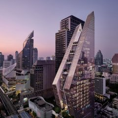 Отель Rosewood Bangkok Бангкок балкон