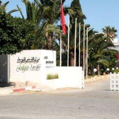 Отель Mediterranee Thalasso-Golf Хаммамет парковка