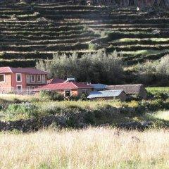 Отель Titicaca Lodge - Isla Amantani Перу, Тилилака - отзывы, цены и фото номеров - забронировать отель Titicaca Lodge - Isla Amantani онлайн приотельная территория фото 2