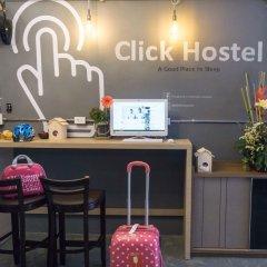 Click Hostel Бангкок интерьер отеля фото 2