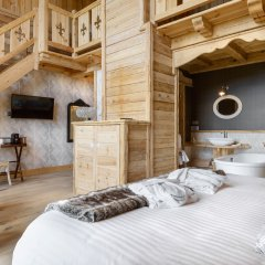 Отель Viñas De Lárrede Сабиньяниго комната для гостей фото 5