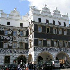 Отель Grandhotel Salva Литомержице вид на фасад