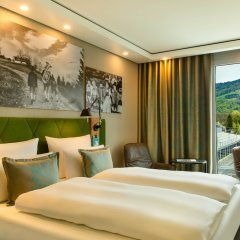 Отель Motel One Salzburg-Süd Австрия, Зальцбург - отзывы, цены и фото номеров - забронировать отель Motel One Salzburg-Süd онлайн комната для гостей фото 5