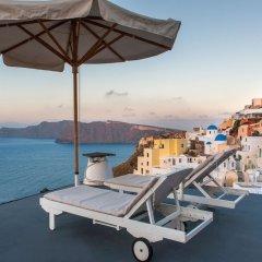 Отель Chroma Suites Греция, Остров Санторини - отзывы, цены и фото номеров - забронировать отель Chroma Suites онлайн бассейн фото 3