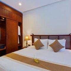Отель Silk Sense Hoi An River Resort Вьетнам, Хойан - отзывы, цены и фото номеров - забронировать отель Silk Sense Hoi An River Resort онлайн комната для гостей фото 3