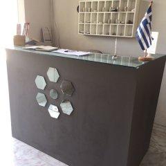 Отель ALKYONIDES Петалудес интерьер отеля