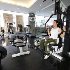 Отель LK Royal Suite Pattaya фитнесс-зал фото 4