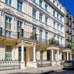Отель Comfort Inn Hyde Park Лондон вид на фасад