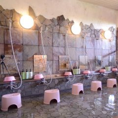 Отель Iyashi no Sato Rakushinkan Кикуйо гостиничный бар