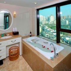 Отель Central Hotel Jingmin Китай, Сямынь - отзывы, цены и фото номеров - забронировать отель Central Hotel Jingmin онлайн ванная