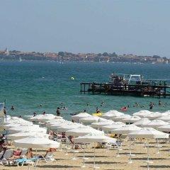 Отель Lotus Hotel Болгария, Солнечный берег - отзывы, цены и фото номеров - забронировать отель Lotus Hotel онлайн пляж фото 2