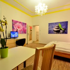 Апартаменты AJO Apartments Messe интерьер отеля