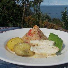 Отель Titicaca Lodge - Isla Amantani Перу, Тилилака - отзывы, цены и фото номеров - забронировать отель Titicaca Lodge - Isla Amantani онлайн питание фото 2