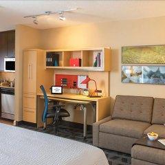 Отель TownePlace Suites Milpitas Silicon Valley комната для гостей