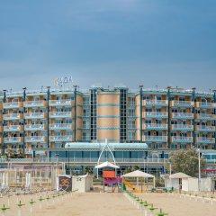 Отель Savoia Hotel Rimini Италия, Римини - 7 отзывов об отеле, цены и фото номеров - забронировать отель Savoia Hotel Rimini онлайн пляж фото 2