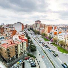 Апартаменты Cosmo Apartments Sants Барселона балкон