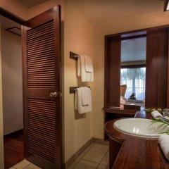 Отель Manava Beach Resort and Spa Moorea Французская Полинезия, Папеэте - отзывы, цены и фото номеров - забронировать отель Manava Beach Resort and Spa Moorea онлайн ванная фото 2