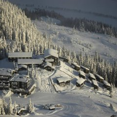 Отель Kvitfjell Alpinhytter спортивное сооружение