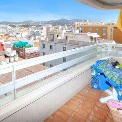 Отель Atics Испания, Льорет-де-Мар - отзывы, цены и фото номеров - забронировать отель Atics онлайн балкон