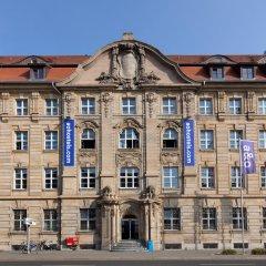 Отель A&o Leipzig Hauptbahnhof Лейпциг вид на фасад