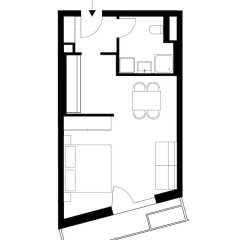 Апартаменты FeelGood Apartments Seestadt Green Living Вена удобства в номере фото 2