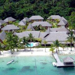 Отель Royal Bora Bora Французская Полинезия, Бора-Бора - отзывы, цены и фото номеров - забронировать отель Royal Bora Bora онлайн пляж