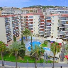 Отель Apartamentos Los Peces Rentalmar Испания, Салоу - 1 отзыв об отеле, цены и фото номеров - забронировать отель Apartamentos Los Peces Rentalmar онлайн пляж фото 2