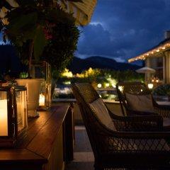 Отель Gstaad Palace балкон