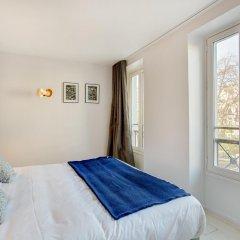 Отель MONTHOLON Париж комната для гостей фото 2