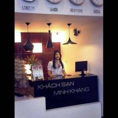 Отель Minh Khang Hotel Вьетнам, Хошимин - отзывы, цены и фото номеров - забронировать отель Minh Khang Hotel онлайн интерьер отеля фото 2