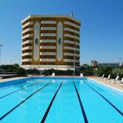 Отель Residence Eurhotel Монтезильвано бассейн фото 2