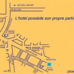 Отель Agenda Louise Брюссель парковка