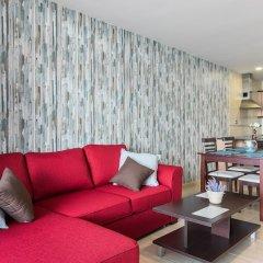 Апартаменты Infinity Terrace Apartment, Entre el Cielo y el Mar Ла-Матанса-де-Асентехо комната для гостей