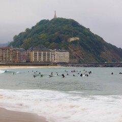 Отель Parma Испания, Сан-Себастьян - отзывы, цены и фото номеров - забронировать отель Parma онлайн пляж фото 2