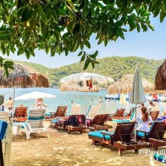 Aes Club Hotel пляж