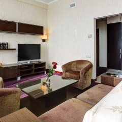 Гостиница Аэростар комната для гостей фото 2