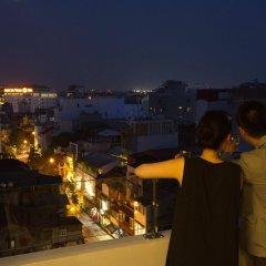 Noble Boutique Hotel Hanoi балкон