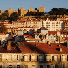 Отель Pensao Beira Minho Лиссабон приотельная территория