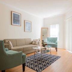 Апартаменты Downtown LA Inspiring Apartments комната для гостей фото 2