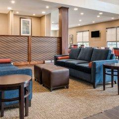 Отель Comfort Suites Columbus Airport США, Колумбус - отзывы, цены и фото номеров - забронировать отель Comfort Suites Columbus Airport онлайн интерьер отеля фото 3