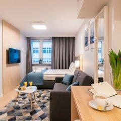 Отель Q17 Apartments Польша, Вроцлав - отзывы, цены и фото номеров - забронировать отель Q17 Apartments онлайн комната для гостей фото 2