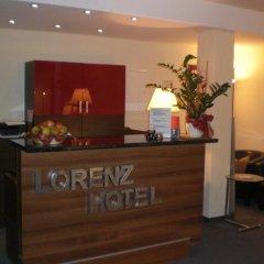 Отель Lorenz Hotel Zentral Германия, Нюрнберг - отзывы, цены и фото номеров - забронировать отель Lorenz Hotel Zentral онлайн интерьер отеля