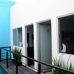 Отель Hostal Be Condesa Мехико балкон