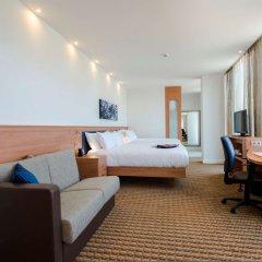 Отель Hampton by Hilton Amsterdam/Arena Boulevard Нидерланды, Амстердам - 2 отзыва об отеле, цены и фото номеров - забронировать отель Hampton by Hilton Amsterdam/Arena Boulevard онлайн комната для гостей