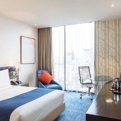 Отель Holiday Inn Express Bangkok Siam Таиланд, Бангкок - 3 отзыва об отеле, цены и фото номеров - забронировать отель Holiday Inn Express Bangkok Siam онлайн комната для гостей фото 5