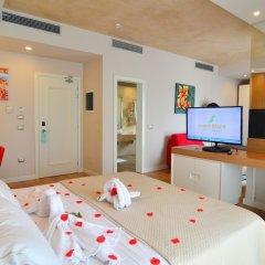 Отель Sandy Beach Resort Албания, Голем - отзывы, цены и фото номеров - забронировать отель Sandy Beach Resort онлайн комната для гостей фото 3